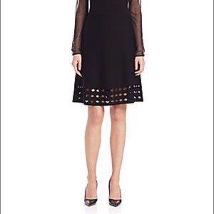Elie Tahari Zita Cutout Sweater Skirt